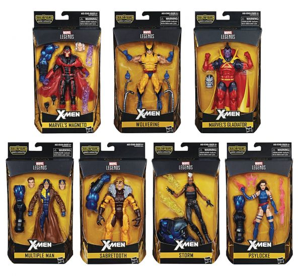 X-MEN LEGENDS KOMPLETTE ACTIONFIGUREN-SERIE