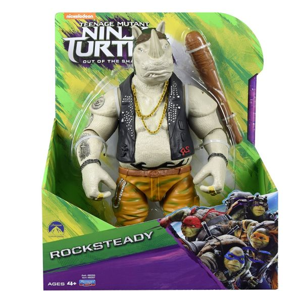 TEENAGE MUTANT NINJA TURTLES MOVIE 2 27,5cm ROCKSTEADY ACTIONFIGUR