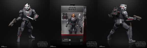 VORBESTELLUNG ! Star Wars The Black Series Wrecker Deluxe 6 Inch Actionfigur