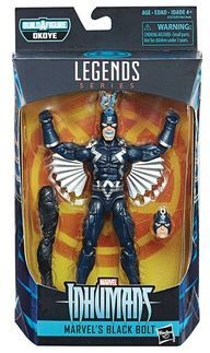 BLACK PANTHER LEGENDS 15 cm BLACK BOLT ACTIONFIGUR