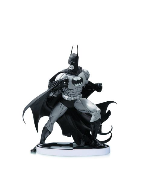 BATMAN BLACK AND WHITE STATUE BY SALE 2ND EDITION