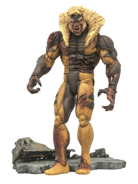 MARVEL SELECT ZOMBIE SABRETOOTH ACTIONFIGUR