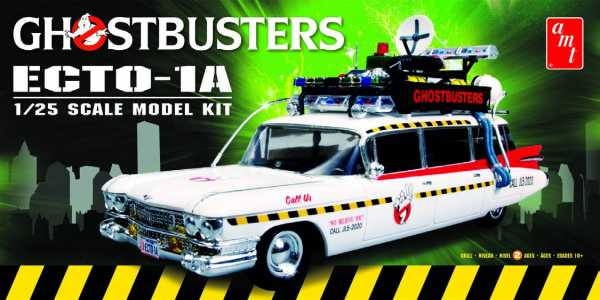 GHOSTBUSTERS ECTO-1A 1/25 SCALE MODELLBAUSATZ