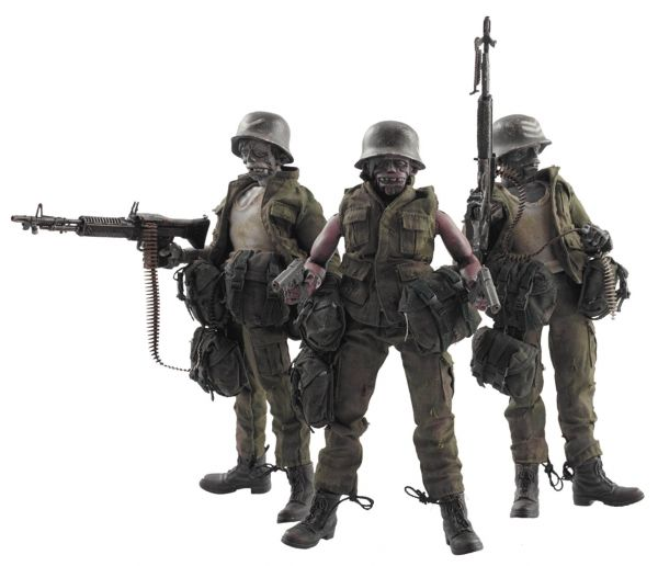 ADVENTURE KARTEL DEAD EASY CORP 1/12 SCALE 3 PACK FIGURE SET