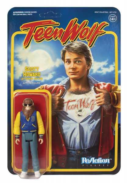 TEEN WOLF 1985 SCOTT REACTION FIGUR
