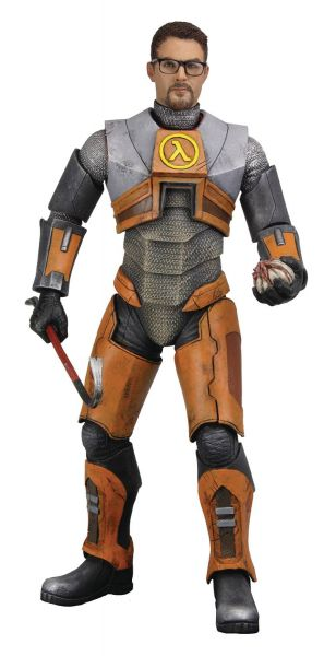 HALF LIFE 2 GORDON FREEMAN ACTIONFIGUR