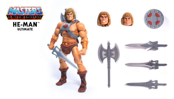 Masters of the Universe Ultimate He-Man ACTIONFIGUR