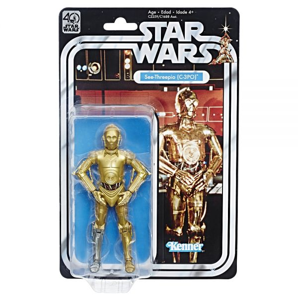 Star Wars The Black Series 40th Anniversary C-3PO Actionfigur