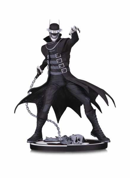 BATMAN BLACK & WHITE THE BATMAN WHO LAUGHS STATUE