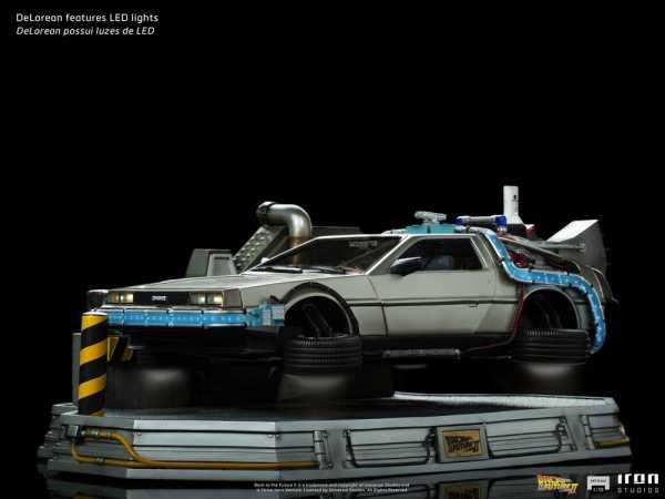 AUF ANFRAGE ! Zurück in die Zukunft II 1/10 DeLorean 58 cm Art Scale Statue