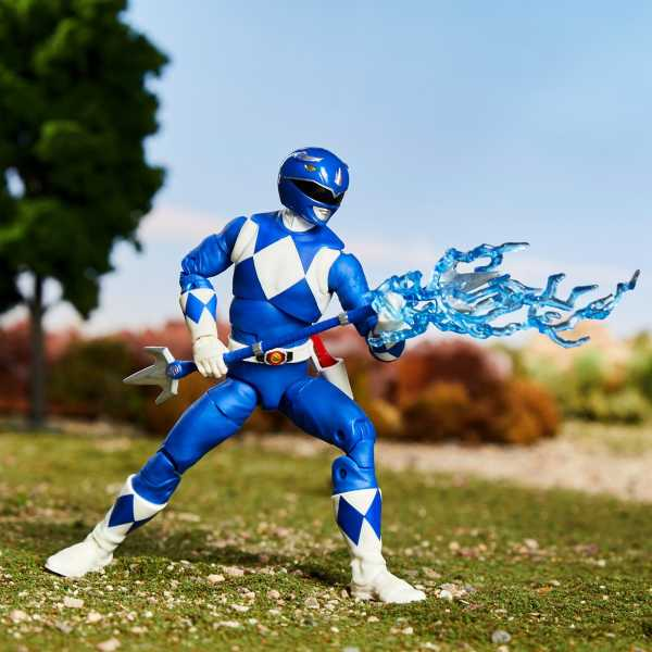 Power Rangers Lightning Collection Mighty Morphin Blue Ranger 6 Inch Actionfigur