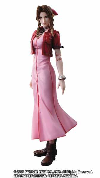 CRISIS CORE FINAL FANTASY VII AERITH PLAY ARTS KAI ACTIONFIGUR