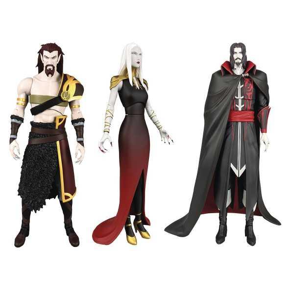 VORBESTELLUNG ! Castlevania Select Series 2 Actionfiguren 3-Pack