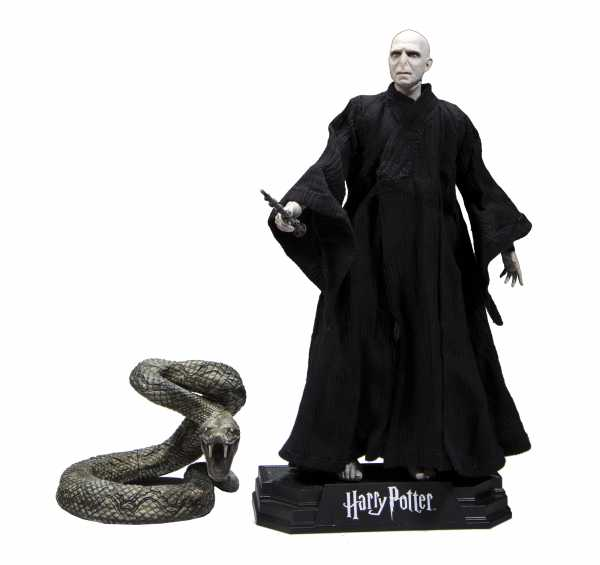 HARRY POTTER DEATHLY HALLOWS PART 2 VOLDEMORT 17,5 cm ACTIONFIGUR