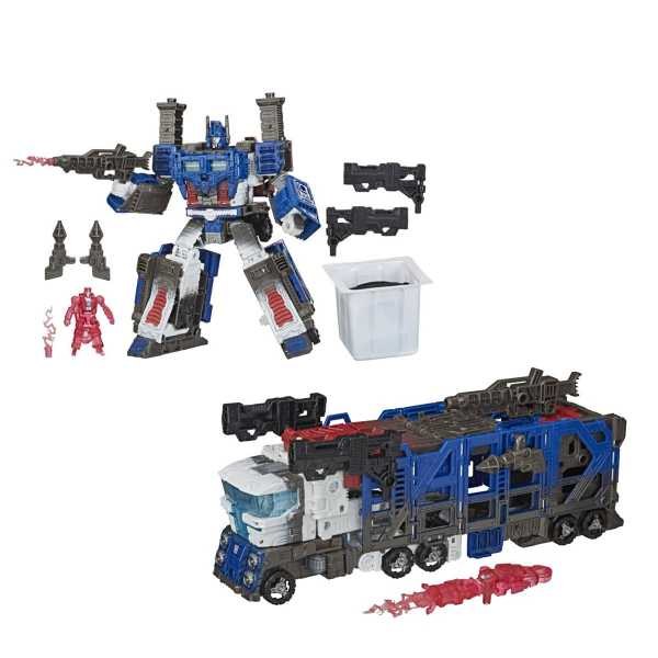VORBESTELLUNG ! Transformers Generations War for Cybertron Trilogy Leader Ultra Magnus Spoiler Pack