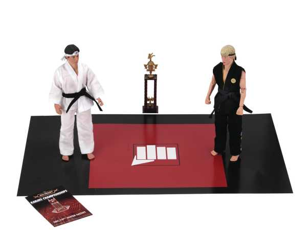 KARATE KID 1984 20 cm RETRO ACTIONFIGUREN TOURNAMENT 2-PACK