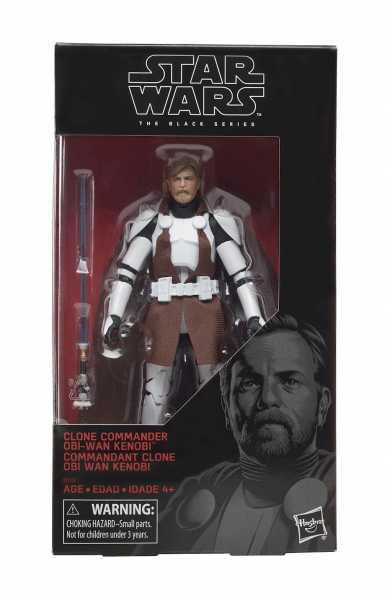 Star Wars Black Series Actionfigur Clone Commander Obi-Wan 15 cm