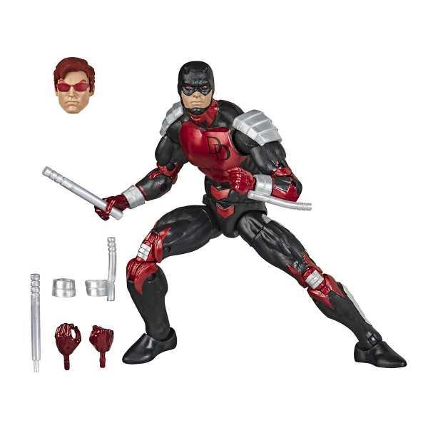 Spider-Man Retro Marvel Legends Daredevil 6 Inch Actionfigur