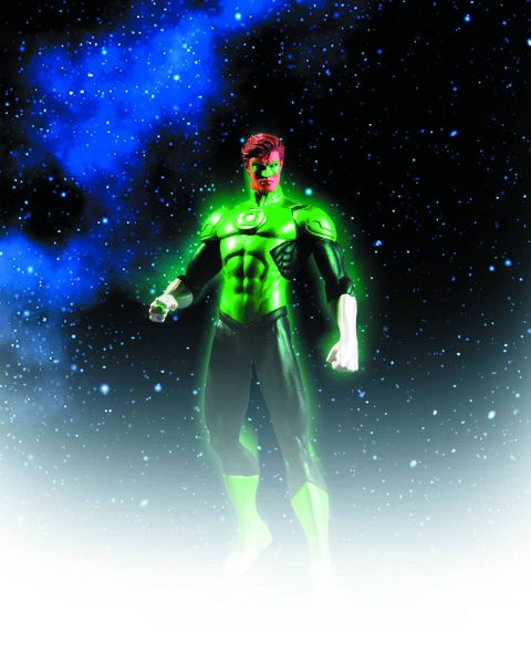 JUSTICE LEAGUE THE NEW 52 GREEN LANTERN ACTIONFIGUR