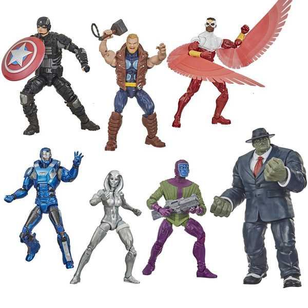 Avengers Video Game Marvel Legends Wave 2 Mr. Fixit Komplett-Set