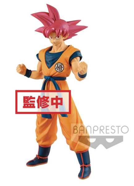 DRAGON BALL SUPER MOVIE CHOUKOKUBUYUUDEN SUPER SAIYAN GOD SON GOKU FIGUR