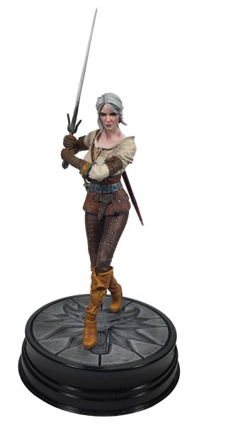WITCHER 3 WILD HUNT CIRI STATUE