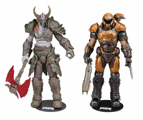 Doom Series 2 Doom Slayer Phobos & Marauder 7 Inch Actionfiguren-Set
