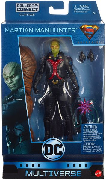 DC MULTIVERSE 15 cm TV MARTIAN MANHUNTER ACTIONFIGUR