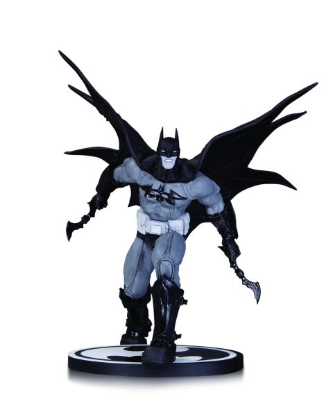 BATMAN BLACK AND WHITE STATUE BY DANDA