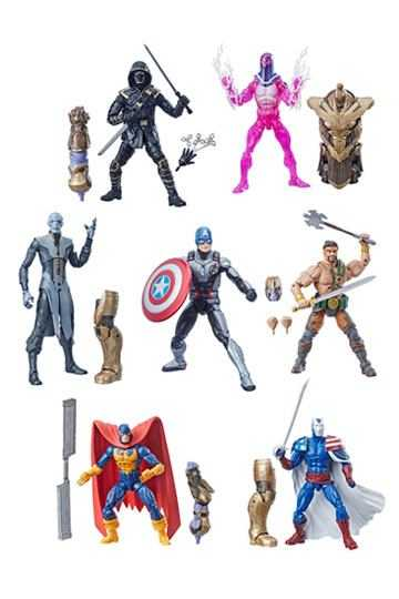 MARVEL LEGENDS AVENGERS THANOS WAVE KOMPLETT-SET