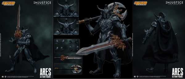 VORBESTELLUNG ! Injustice: Gods Among Us Ares 1:10 Scale Actionfigur