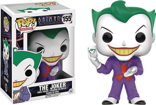 POP BATMAN THE ANIMATED SERIES JOKER VINYL FIGUR defekte Verpackung