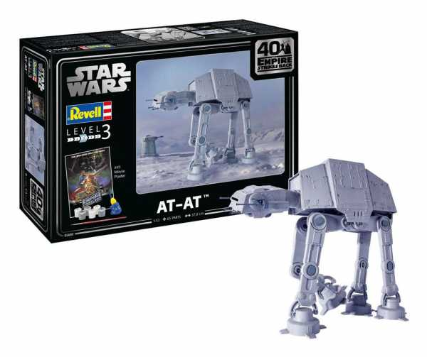 VORBESTELLUNG ! Star Wars 1/53 AT-AT - 40th Anniversary 38 cm Modellbausatz
