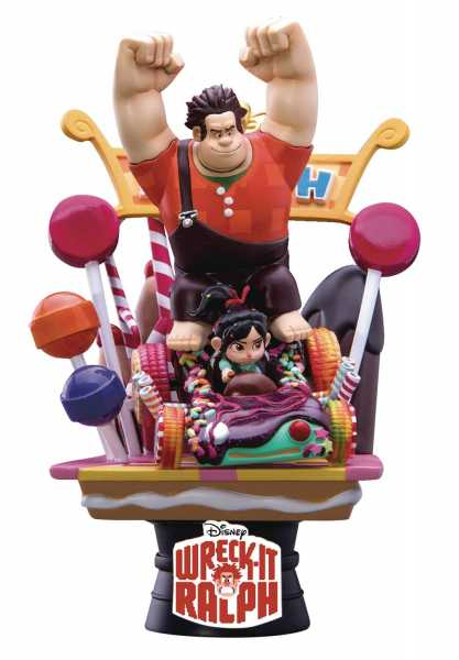 WRECK-IT RALPH DS-008 D-STAGE SERIES PX 15 cm STATUE-Beschädigte Verpackung