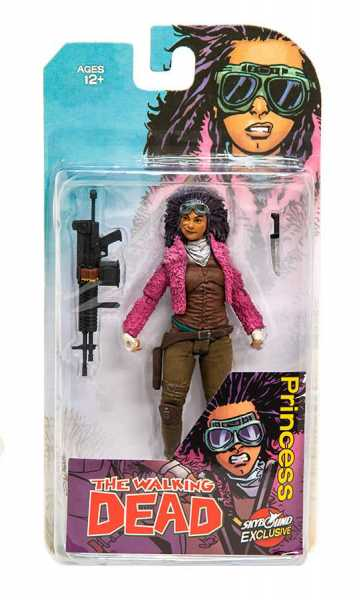 WALKING DEAD PRINCESS ACTIONFIGUR (COLOR)