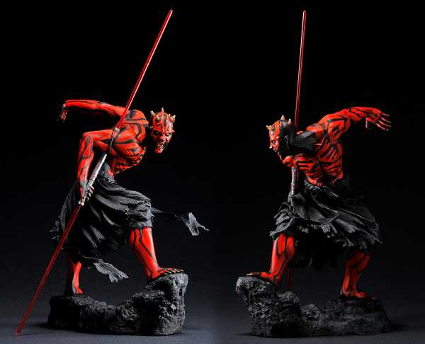 VORBESTELLUNG ! STAR WARS DARTH MAUL ARTFX STATUE UKIYO-E VERSION