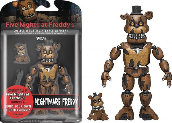 FIVE NIGHTS AT FREDDYS NIGHTMARE FREDDY 12,5 cm ACTIONFIGUR