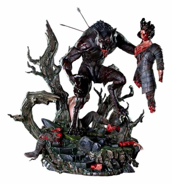 VORBESTELLUNG ! The Creepy Monsters Nightmare Collections 1/4 Lycan 69 cm Statue