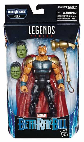 AVENGERS 4 LEGENDS BETA RAY BILL 15 cm ACTIONFIGUR ohne BAF-Teil