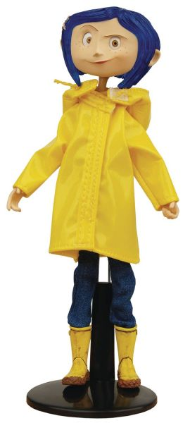 CORALINE RAINCOAT BENDY FASHION PUPPE