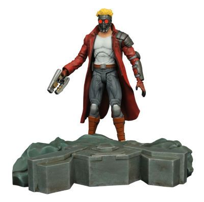 MARVEL SELECT GUARDIANS OF THE GALAXY STAR-LORD ACTIONFIGUR