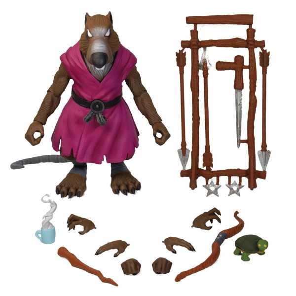 VORBESTELLUNG ! TEENAGE MUTANT NINJA TURTLES ULTIMATES SPLINTER ACTIONFIGUR