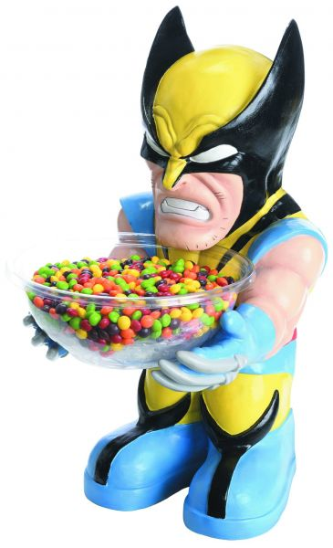 MARVEL HEROES WOLVERINE CANDY BOWL HOLDER