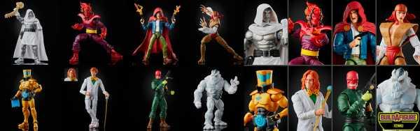 VORBESTELLUNG ! Marvel Legends Super Villains 6 Inch Actionfiguren Komplett-Set