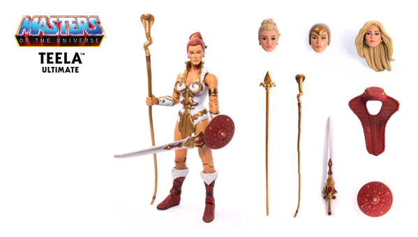 Masters of the Universe Ultimate Teela ACTIONFIGUR