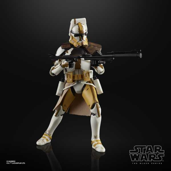 Star Wars The Black Series Clone Commander Bly 6 Inch Actionfigur