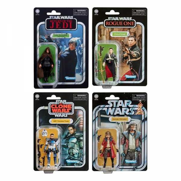 Star Wars The Vintage Collection 2020 Wave 2 Actionfiguren Komplett-Set