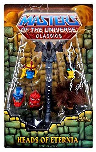 MASTERS OF THE UNIVERSE HEADS OF ETERNIA PACK