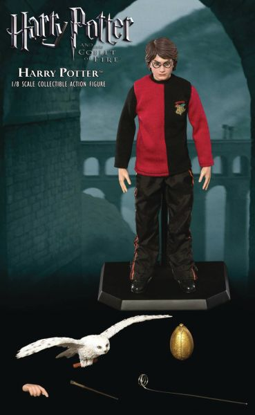 HARRY POTTER GOBLET OF FIRE 1/8 HARRY ACTIONFIGUR TRIWIZARD D VERSION