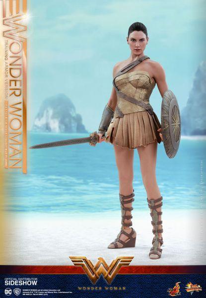 Hot Toys Wonder Woman Training Armor 30 cm Actionfigur